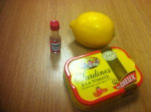 sardine lunch
