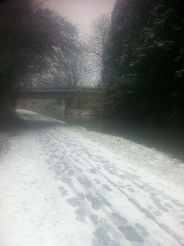 canal snow