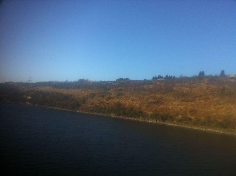 Pentlands blue sky