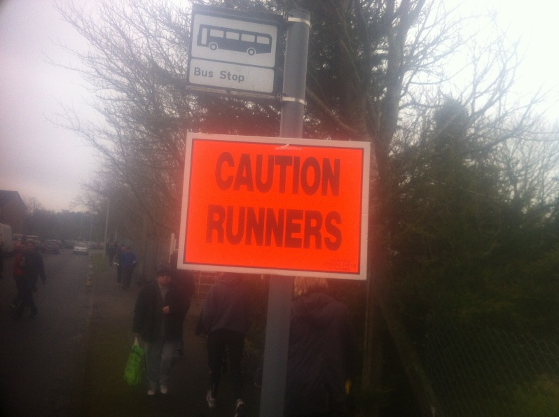 caution runners
