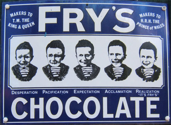 Fry's 5 Boys chocolate