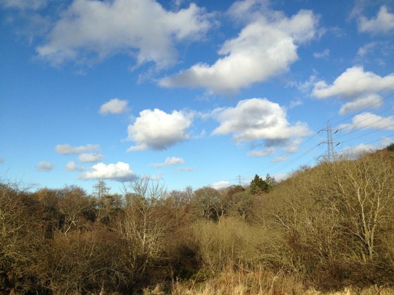 Pentlands sky