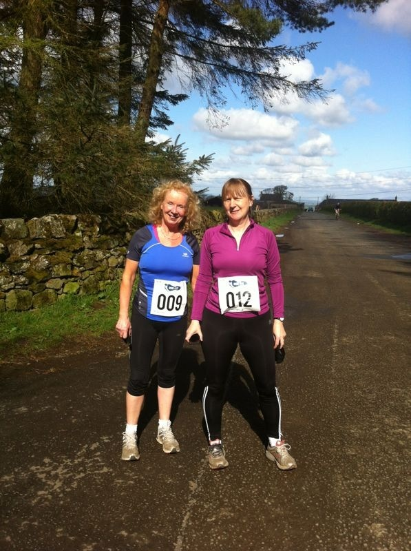 alison and me Bonaly run