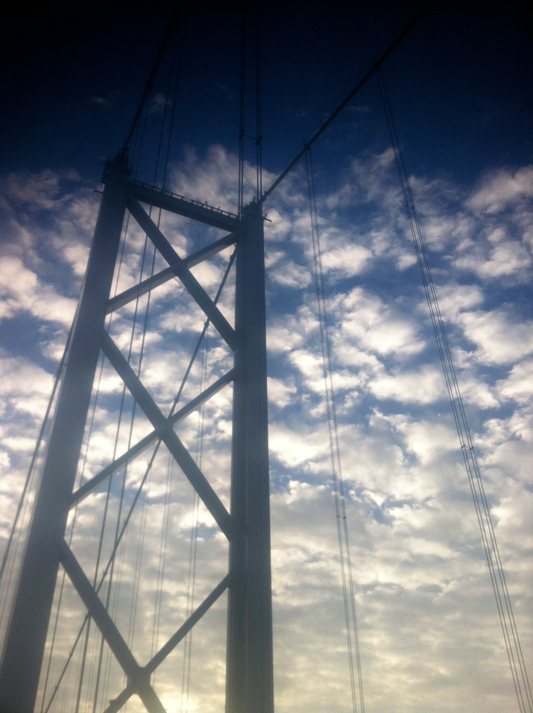 Forth bridge tower