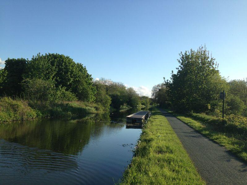 Evening canal run