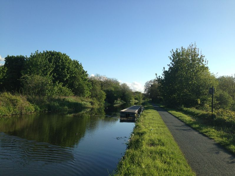 cycle canal path