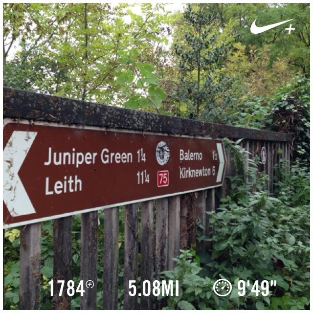 Juniper green sign