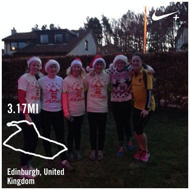 Christmas Day run