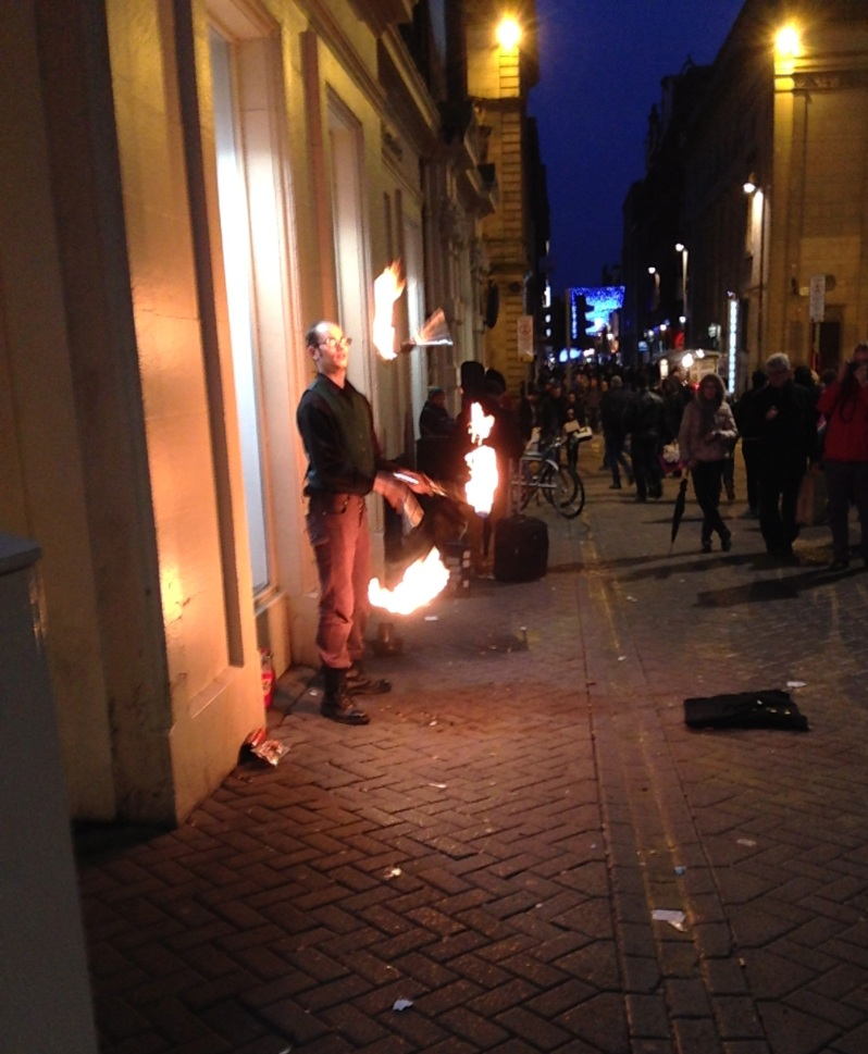 Fire Eater Edinburgh