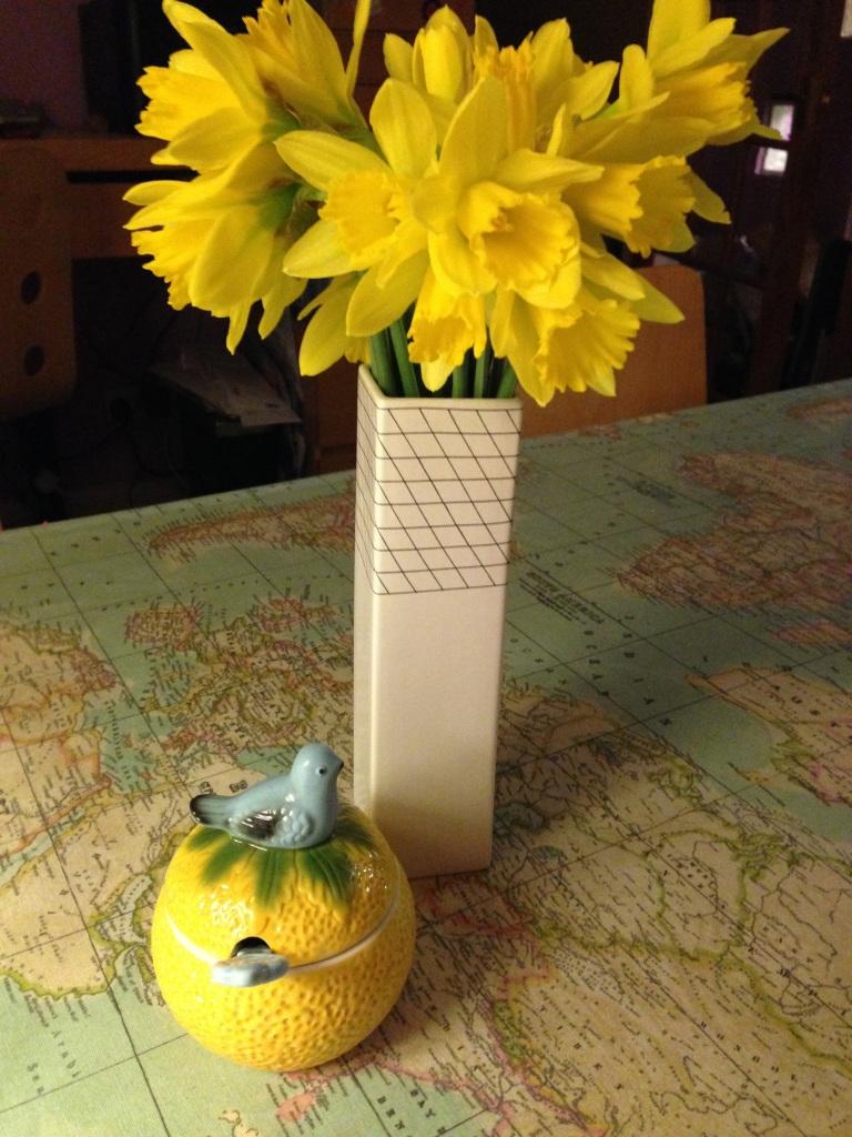 daffodils and marmalade