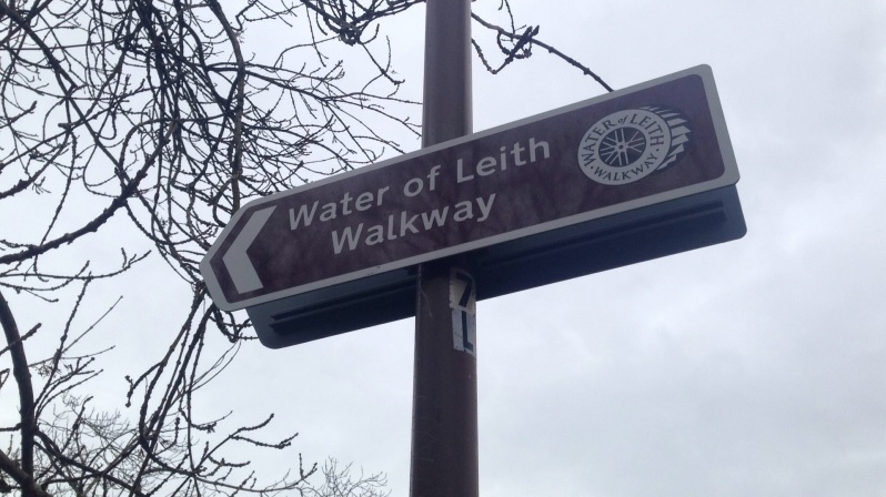 water of leith sign dull