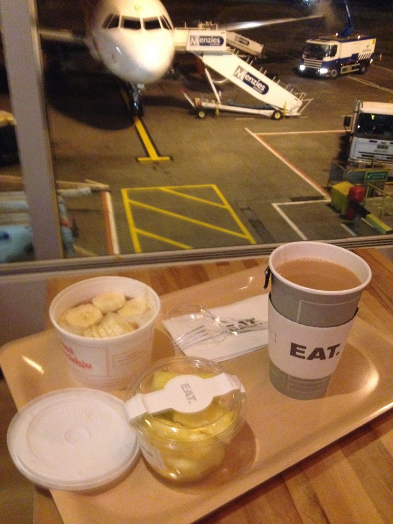 Edinburgh airport breakfast