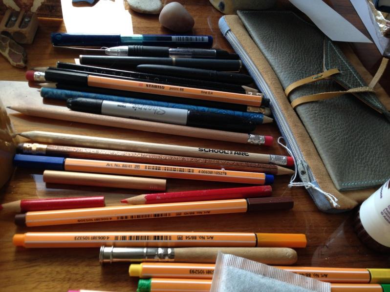 writers paraphenalia