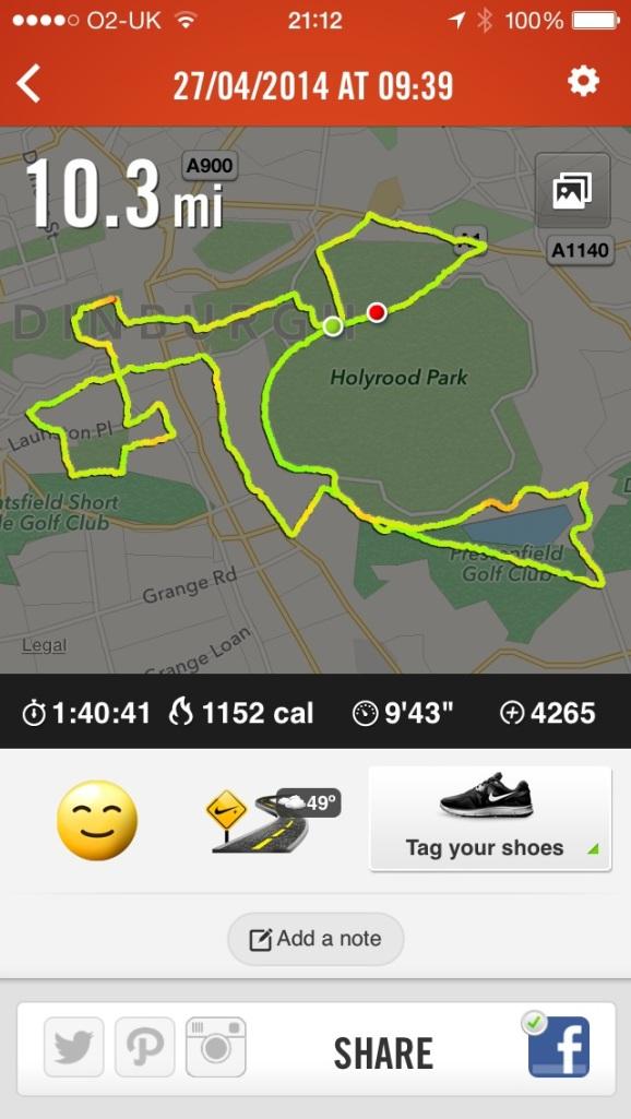 10 mile race Nike +