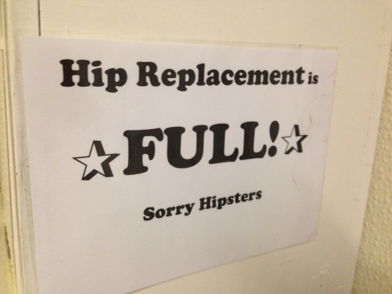 Hip replacement is full