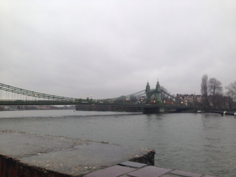 London, Hammersmith Bridge