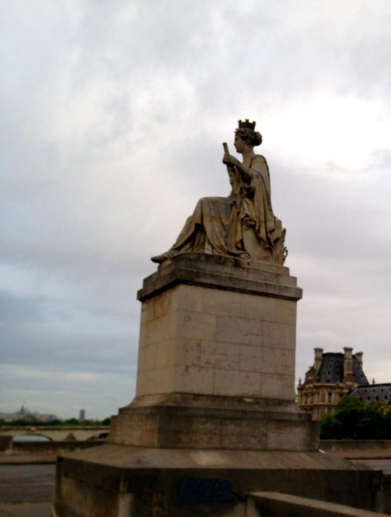 statue, Paris