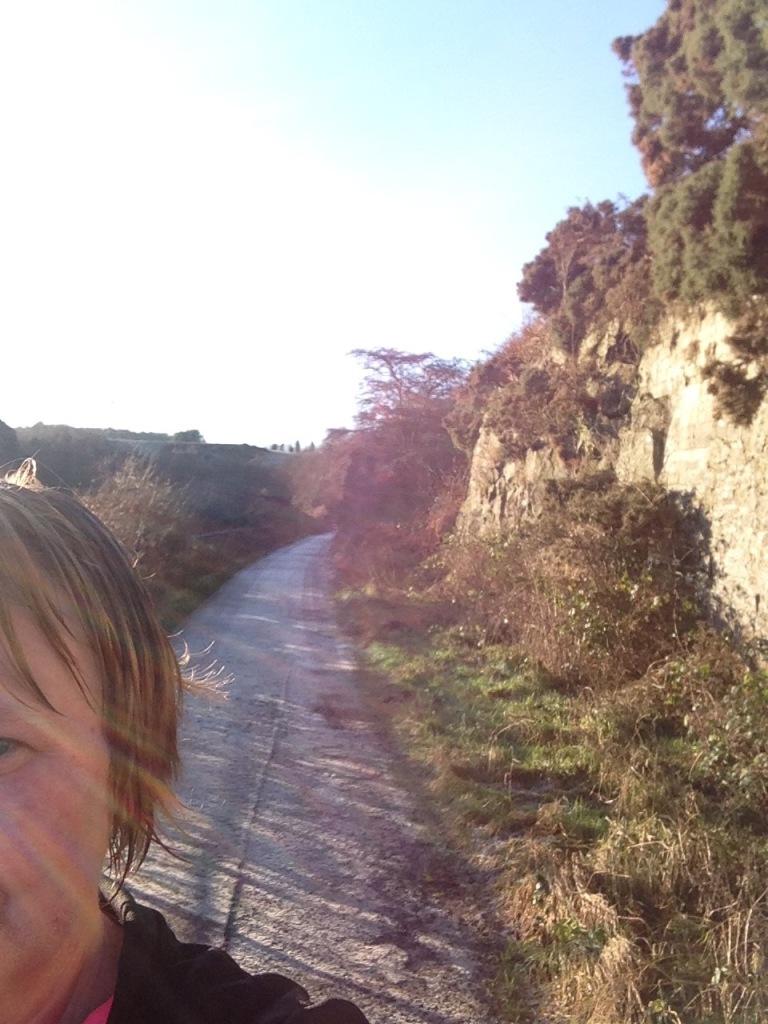 almost sunny selfie