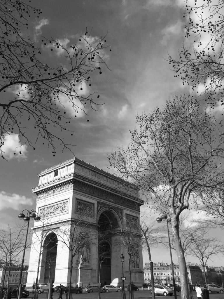 Arc B and W