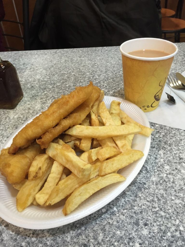 fish and chips, food