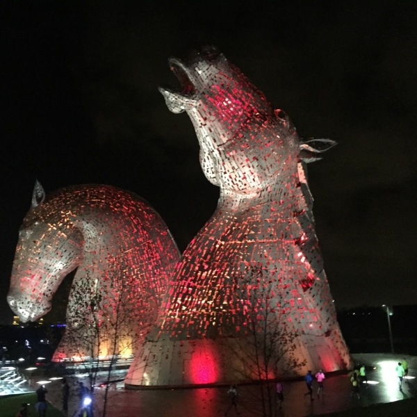 Kelpies sculpture