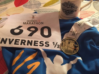 race number Inverness half