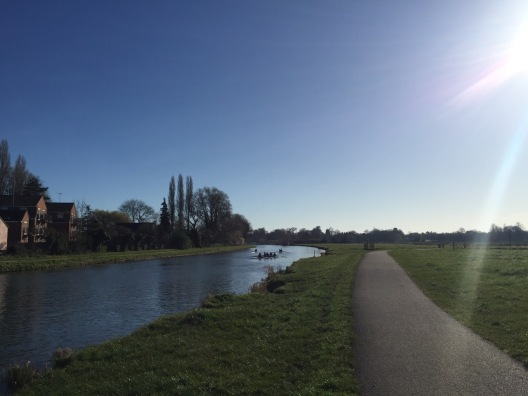 cambridge morning run - 1