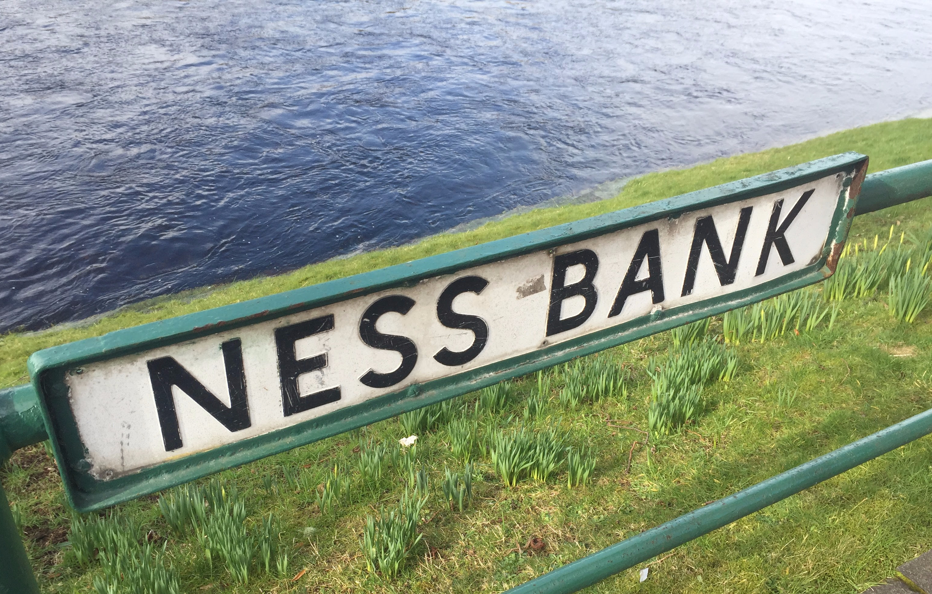 Ness Bank sign