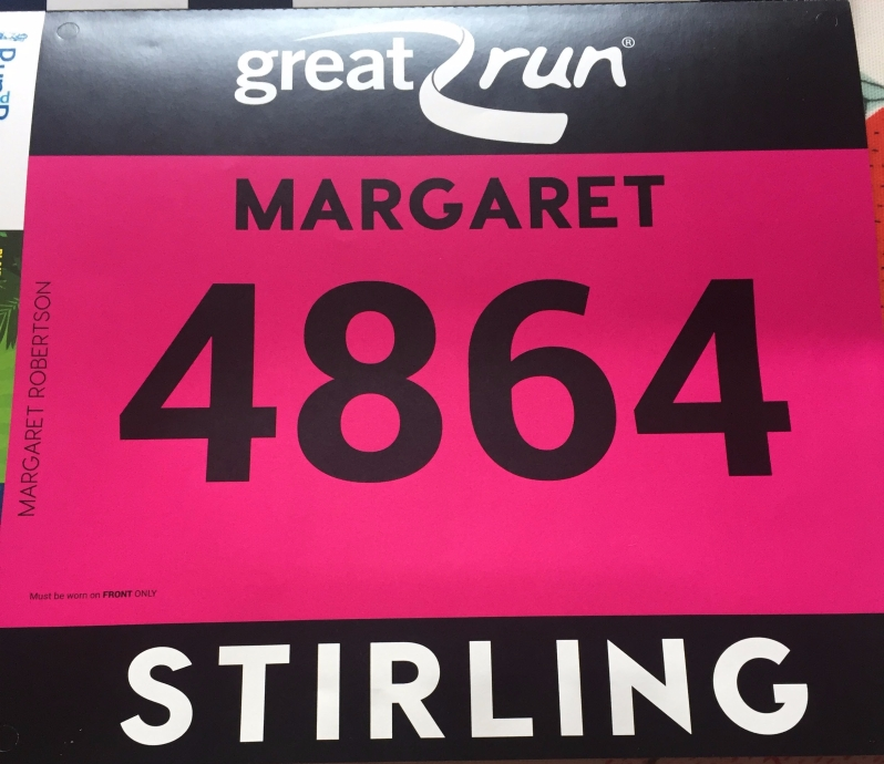 race number Stirling