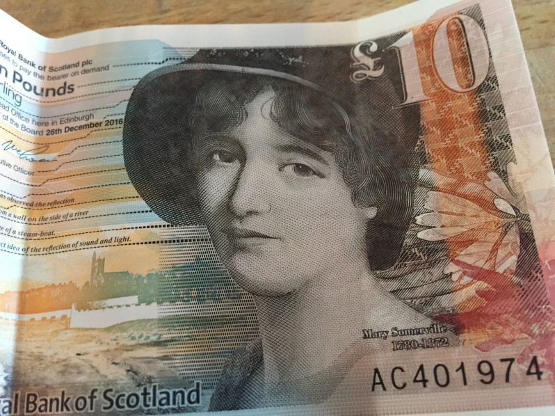 Mary Somerville £ 10 note