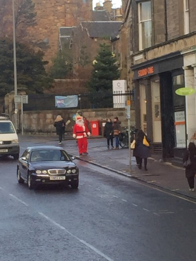 Santa in Morningside