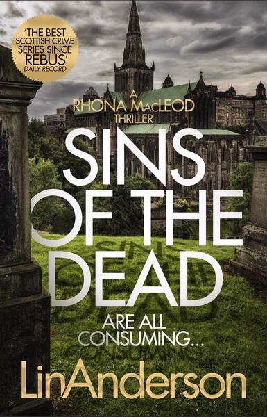Front cover image Lin Anderson novel