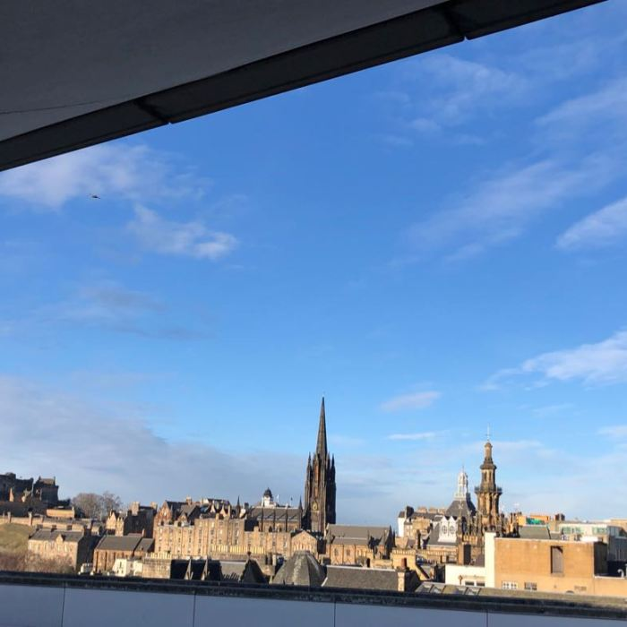 edinburgh museum rooftop view