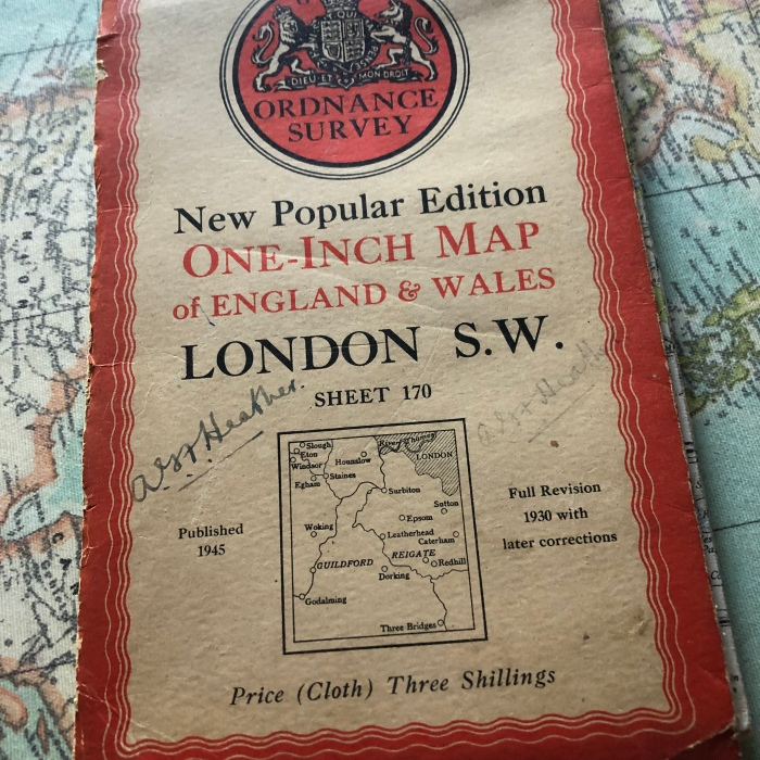 OS map of London