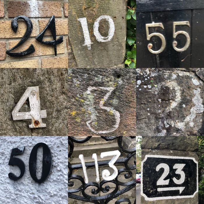 pictures of numbers